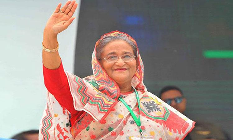 একাদশ জাতীয় সংসদের সংসদ নেতা শেখ হাসিনা