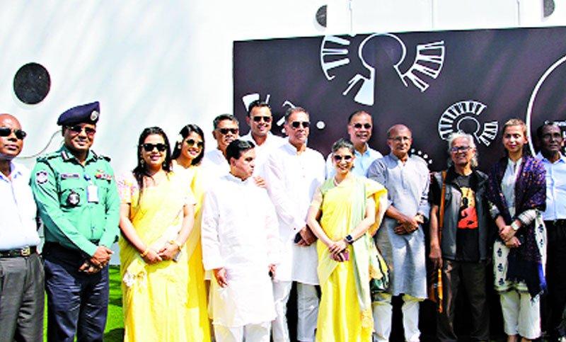 সামিট গাজীপুরে হামিদুজ্জামান ভাস্কর্য পার্কের উদ্বোধন
