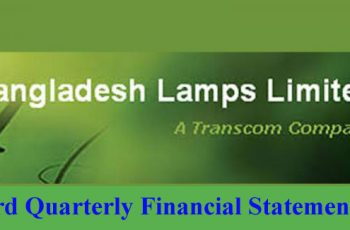 3rd Quarterly Financial Statements of Bangladesh Lamps Limited