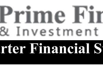 Un-audited Financial Statements of Prime Finance & Investment Limited