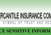 PRICE SENSITIVE INFORMATION OF MERCANTILE INSURANCE CO.LTD