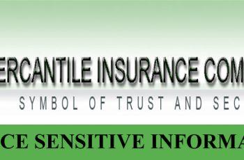 PRICE SENSITIVE INFORMATION OF MERCANTILE INSURANCE CO.LTD