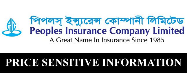 Price Sensitive Information of Peoples Insurance Company Ltd
