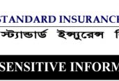 Price Sensitive Information of Standard Insurance Ltd.