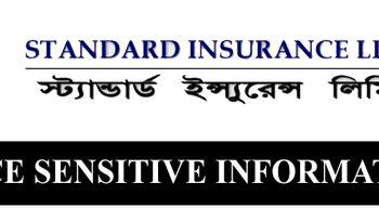 Price Sensitive Information of Standard Insurance Ltd.