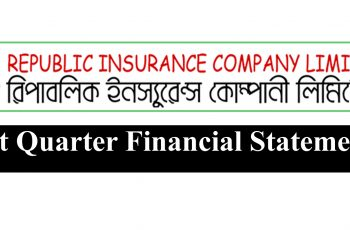 First Quarter Financial Statements oF Republic Insurance Co. Ltd