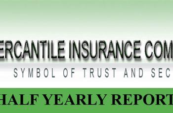 Mercantile Insurance Company Ltd. Half Yearly Report