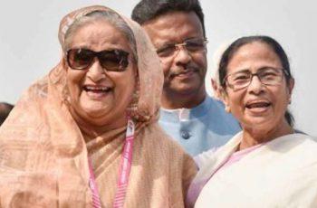 `আপনি নয়, তুমি বলুন' : শেখ হাসিনাকে মমতা