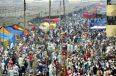 কনকনে শীত উপেক্ষা করে ইজতেমায় মুসল্লিরা