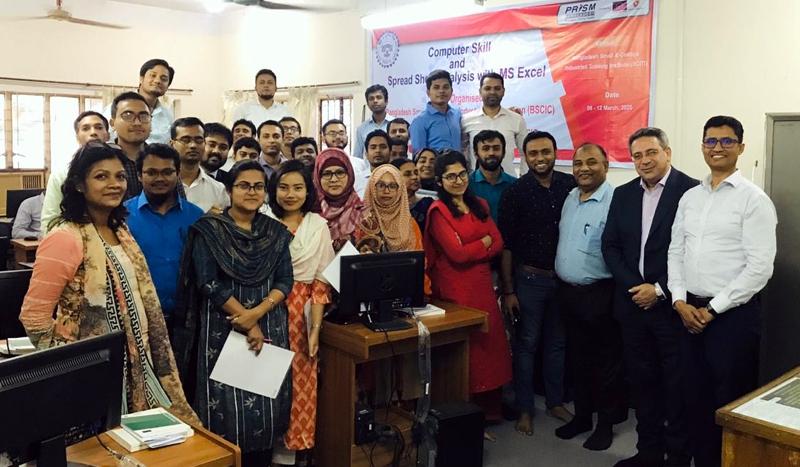 ঢাকায় বিসিকে কম্পিউটার স্কিল বিষয়ক প্রশিক্ষণ সমাপ্ত