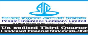 3rd Quarter Financial Statements-2020 Of Peoples Insurance Ltd.