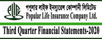 Third Quarter Financial Statements-2020 Of Popular Life Insurance Co. Ltd.