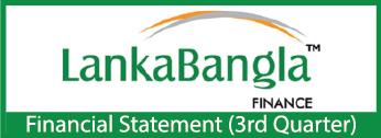 Third Quarter Financial Statements-2020 Of LankaBangla Finance Limited