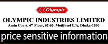 Price Sensitive Information Of  Olympic Industries Ltd.
