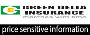 Price sensitive Information of Green Delta Ins. co. Ltd.