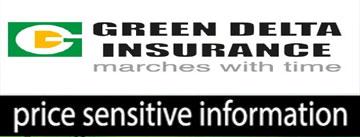 Price sensitive Information of Green Delta Ins. co. Ltd.