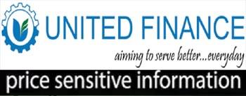 price sensitive information of united finance