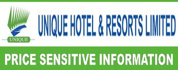 Price Sensitive Information of Unique Hotel And Resorts Limited
