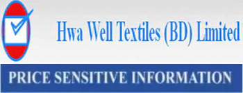 price sensitive information of hwa well textile