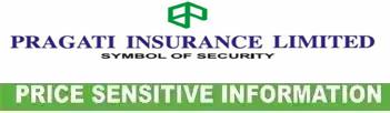 price sensitive information of pragati insurance