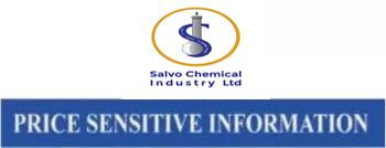 price sensitive information of salvo chemical industry ltd.