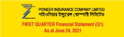price sensitive information of pioneer insurance