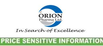 Orion Pharma Limited Un-audited Third Quarter