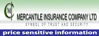 price sensitive information of mercantile insurance company ltd.