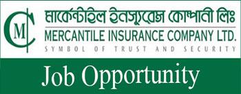 job opportunity of mercantile insurance company ltd.