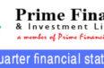 un-audited 2nd quarter financial statement of prime finance & investment ltd.